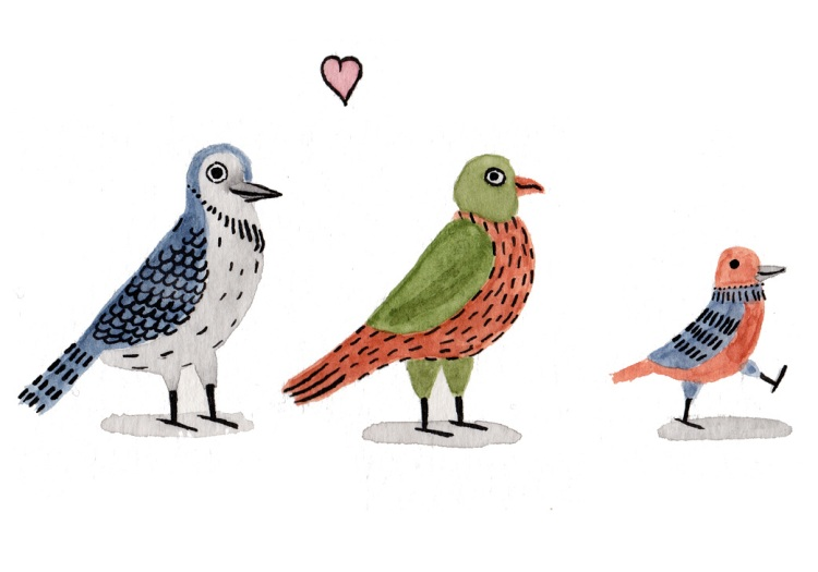 La famille Oiseaux